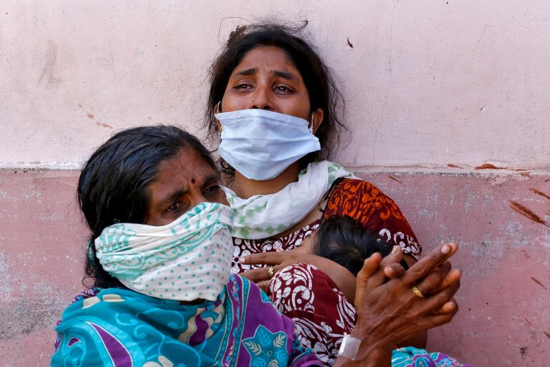 FILE PHOTO: Gas leak at LG Polymers plant in Visakhapatnam, India