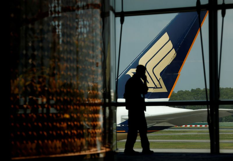 Singapore Airlines reports US$150 million loss