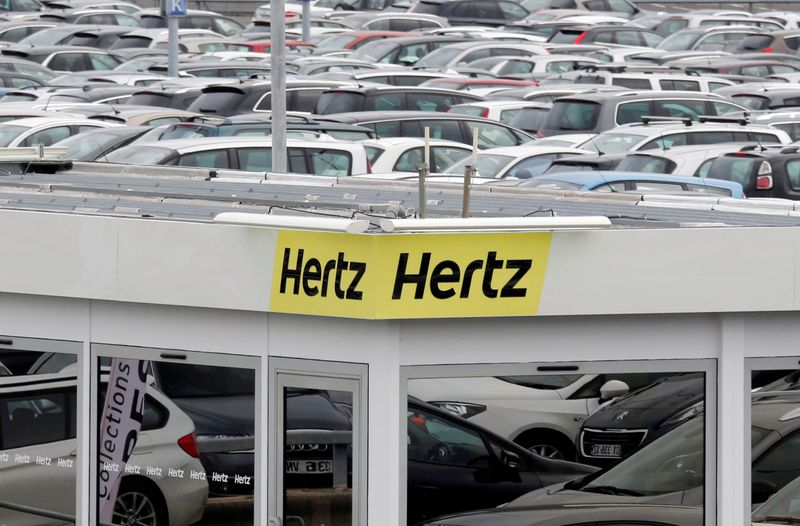 Hertz proposes $1 billion stock sale to capitalize on odd rally