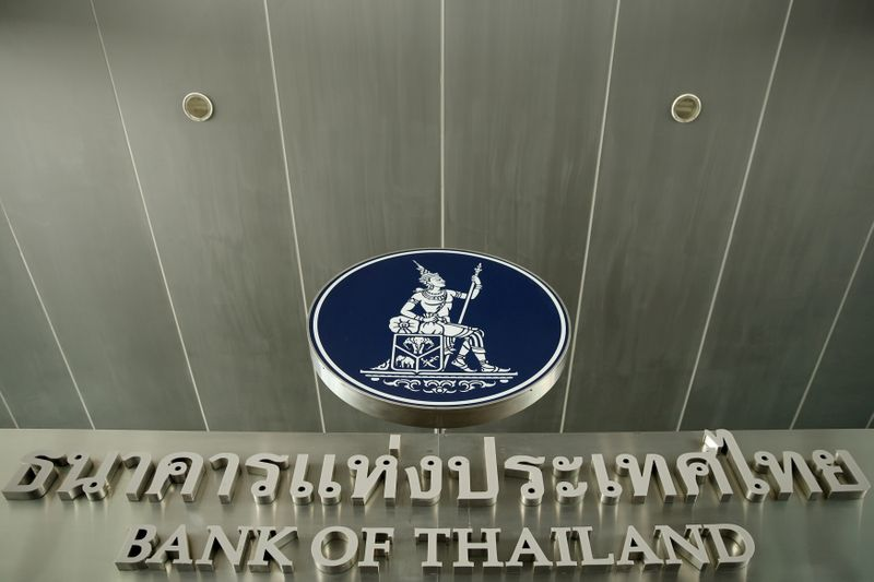 Thailand's central bank is seen at the Bank of Thailand in Bangkok,