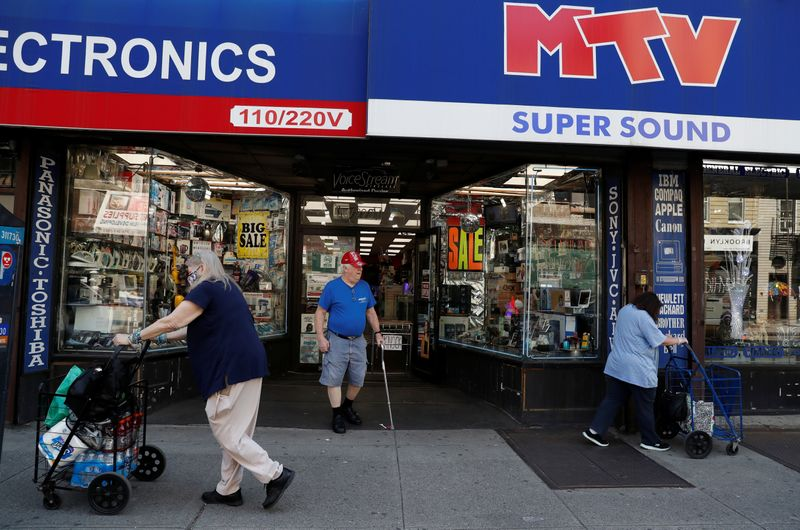 Retail shops in Brooklyn as phase one reopening continues duing outbreak of the coronavirus disease (COVID-19) in New York