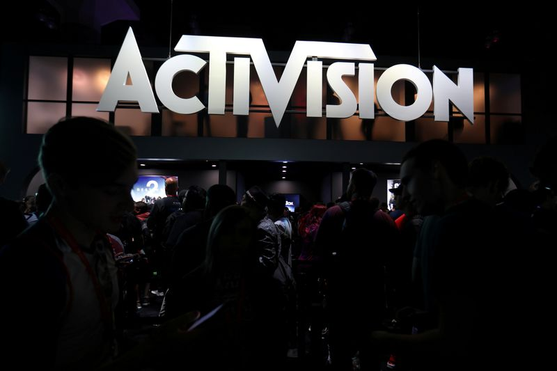 FILE PHOTO: The Activision booth is shown at the E3 2017 Electronic Entertainment Expo in Los Angeles
