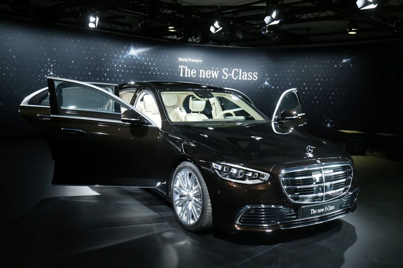 Daimler's Mercedes-Benz presents new S-Class