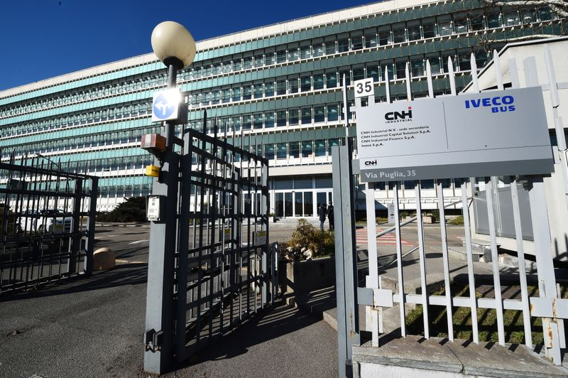 The truck and tractor maker CNH Industrial NV releases Q4 and FY results