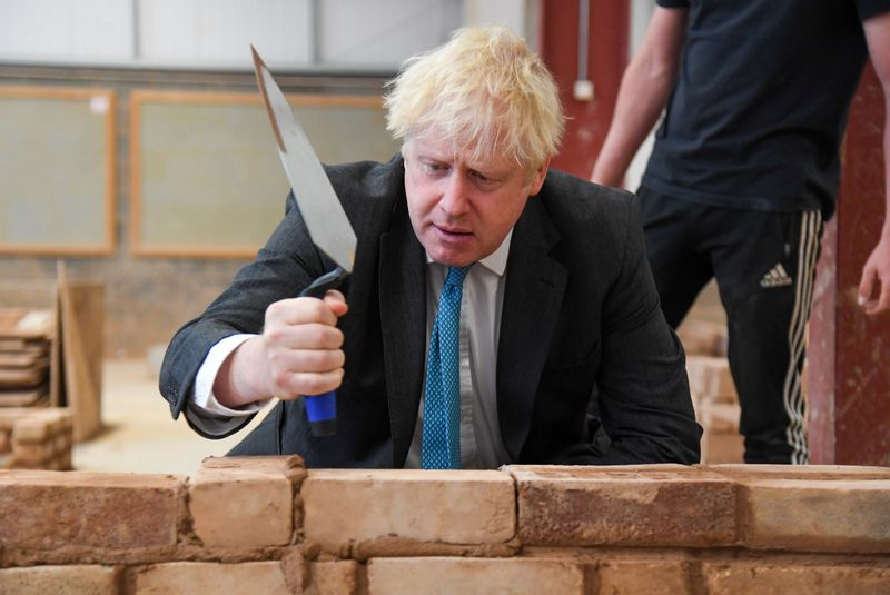 UK PM Johnson delivers speech on skills and further education