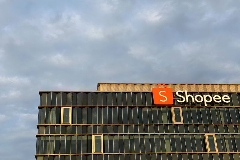 The Shopee office in Singapore