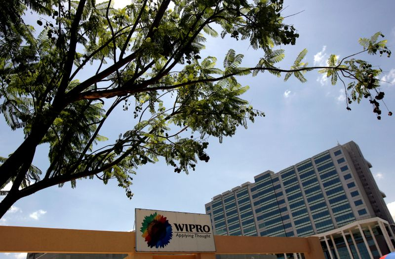FILE PHOTO: The Wipro campus is seen in Bangalore