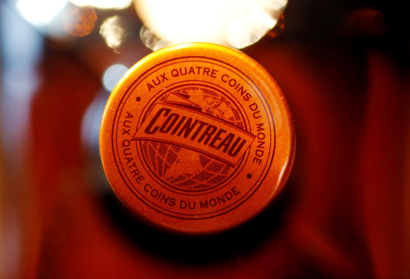 FILE PHOTO: A bottle of Remy Cointreau is seen in this illustration picture