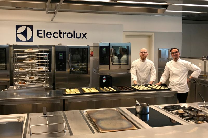 FILE PHOTO:  Interiors of Electrolux R&D facility are pictured at their plant in Pordenone