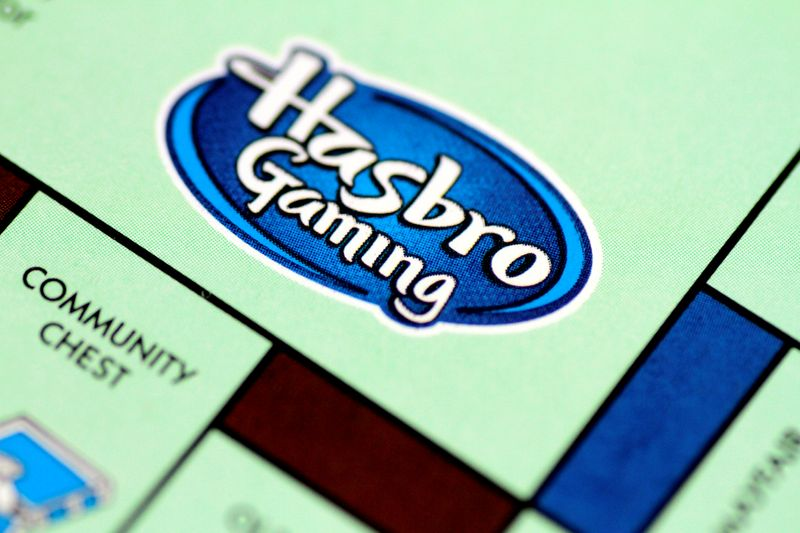 Illustration photo of a Monopoly board game by Hasbro Gaming