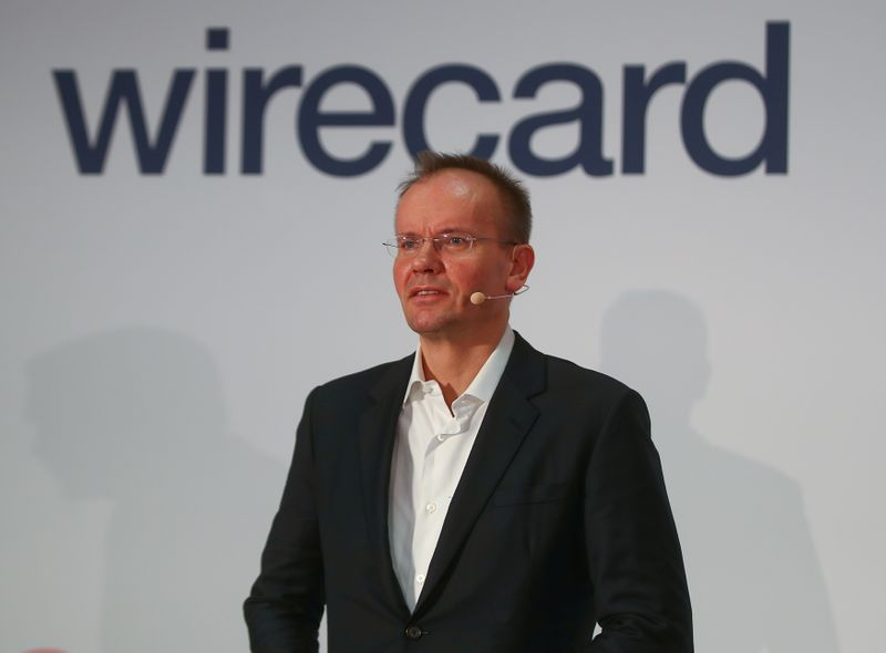 Braun of Wirecard AG attends the company's annual news conference in Aschheim