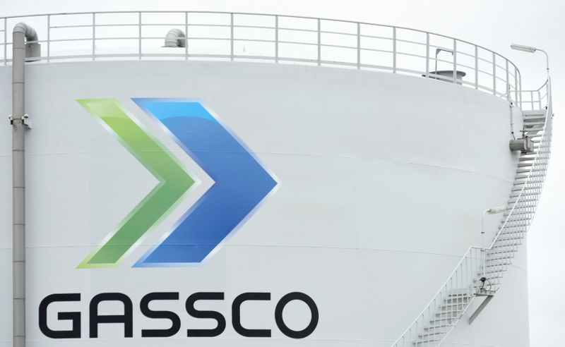 FILE PHOTO: NewGas Import Terminal of Gassco