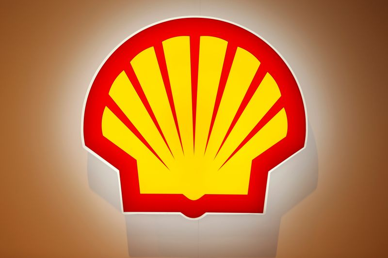 FILE PHOTO: The logo of Shell is pictured at the 26th World Gas Conference in Paris