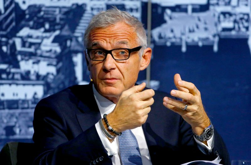 FILE PHOTO: Outgoing Credit Suisse Chairman Urs Rohner takes part in the Swiss International Financial Forum in Rueschlikon, Switzerland