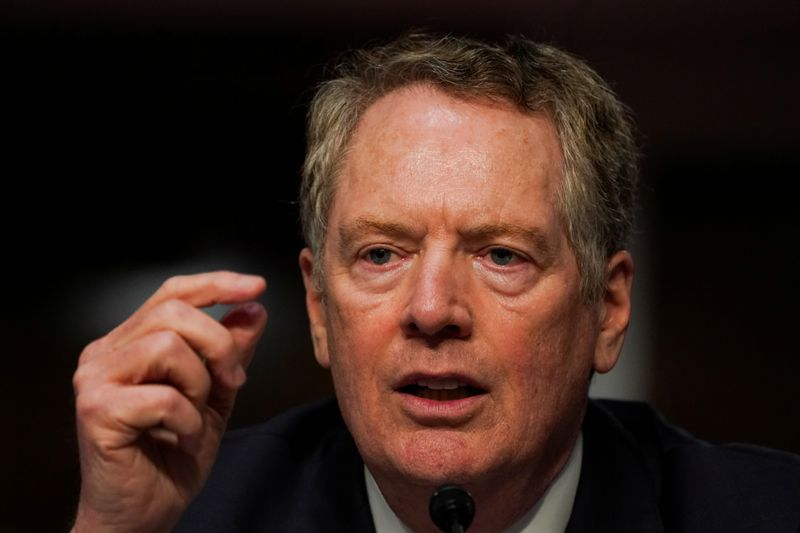 United Kingdom discussing tariffs before trade deal: Lighthizer