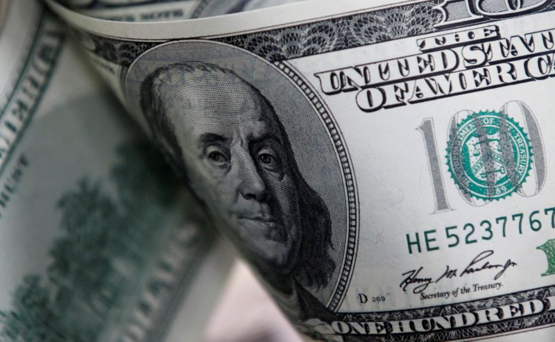 Dollar gives up 3-week high on profit-taking