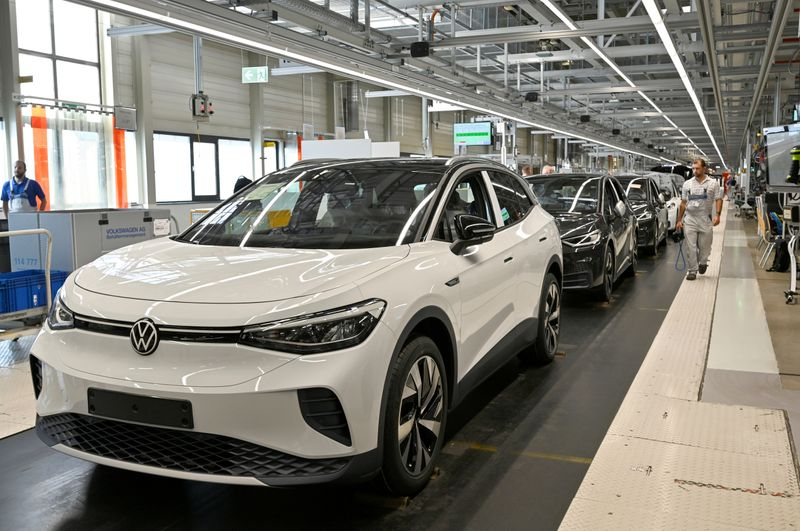 FILE PHOTO: VW shows electric SUV
