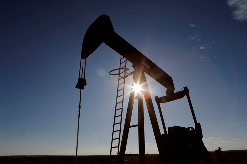 WTI crude oil futures settle at $53.55