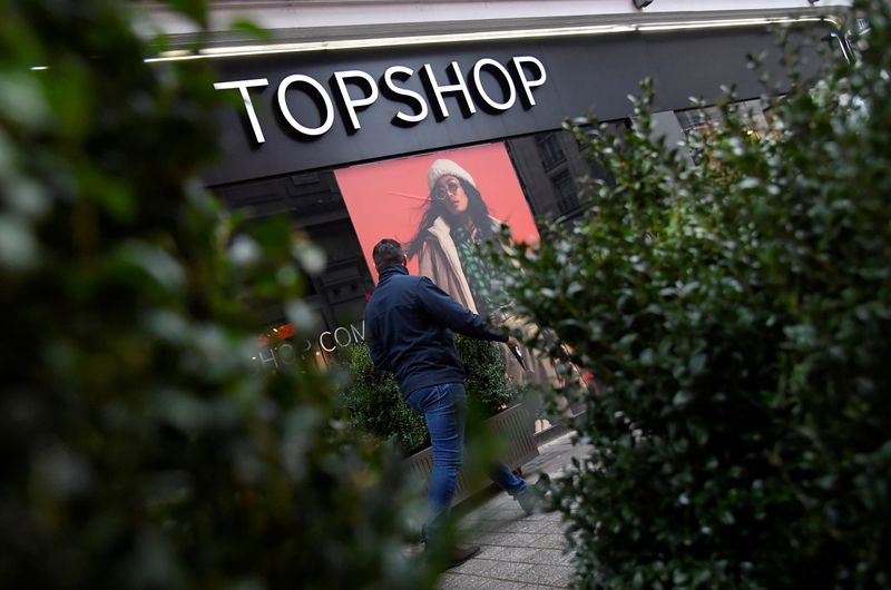 Asos buys Topshop and three other Arcadia brands following company's collapse