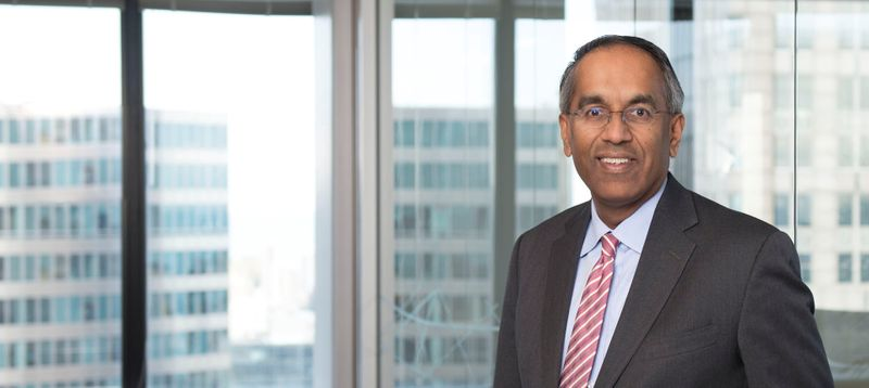 Heidrick & Struggles President & CEO Krishnan Rajagopalan poses in undated photo