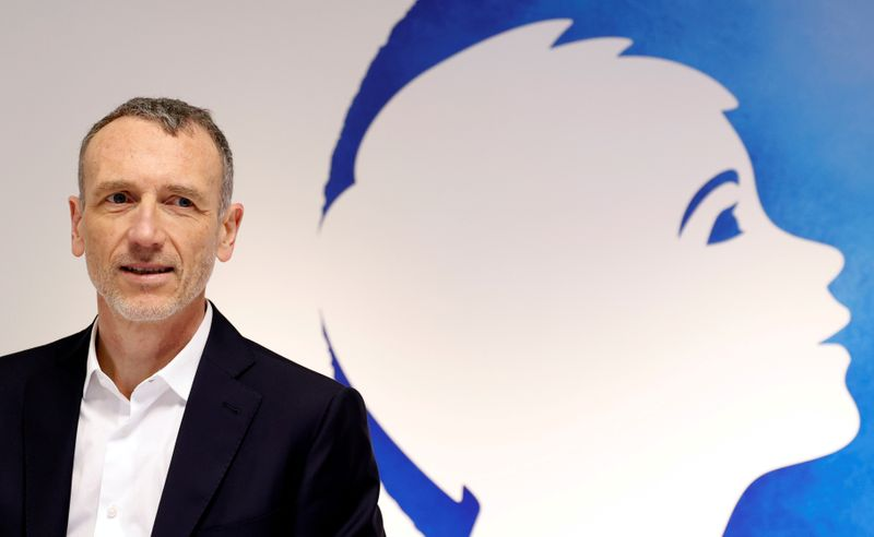 FILE PHOTO: Danone Chief Executive Emmanuel Faber