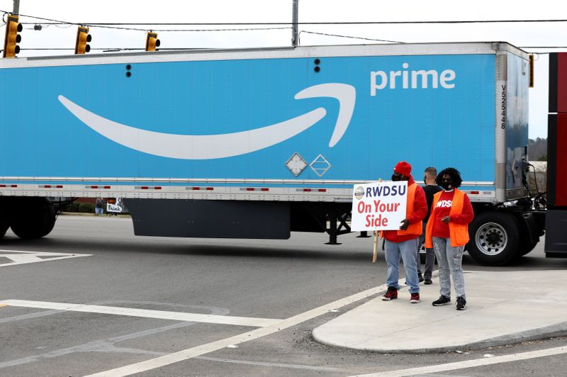 Congressional delegation to Amazon plant