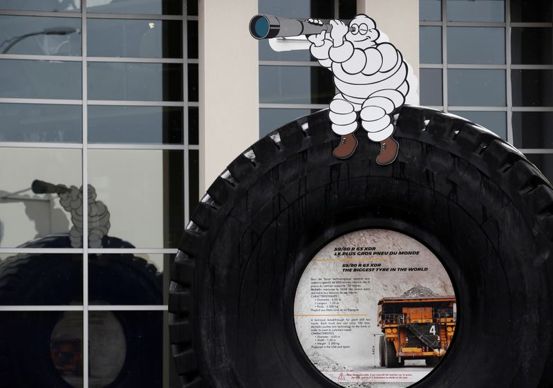 FILE PHOTO: Michelin to cut up to 2,300 jobs over three years