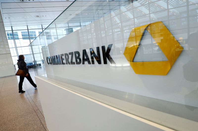 Commerzbank AG annual results news conference in Frankfurt