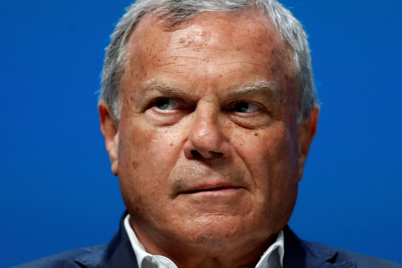 FILE PHOTO: Sir Martin Sorrell attends a conference at the Cannes Lions International Festival of Creativity, in Cannes