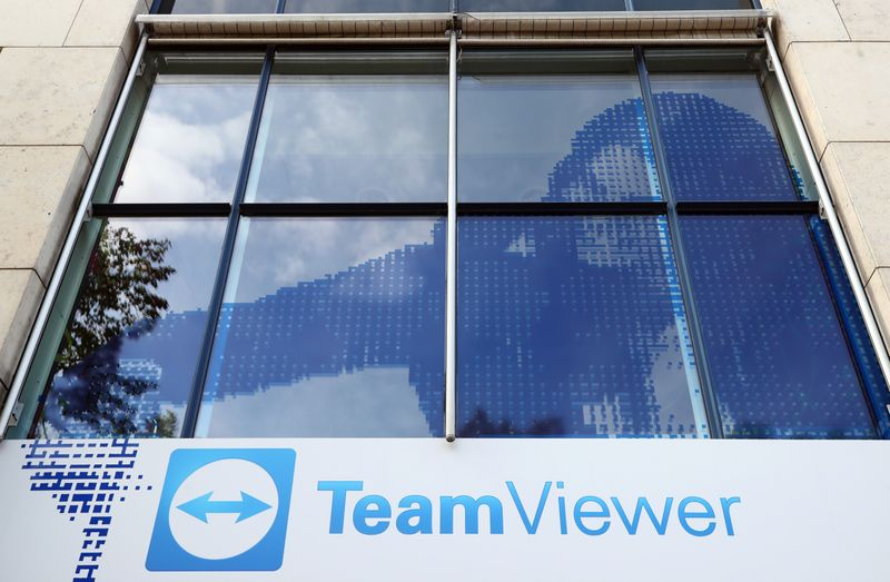 The headquarters of the German company Team Viewer is seen in Goeppingen