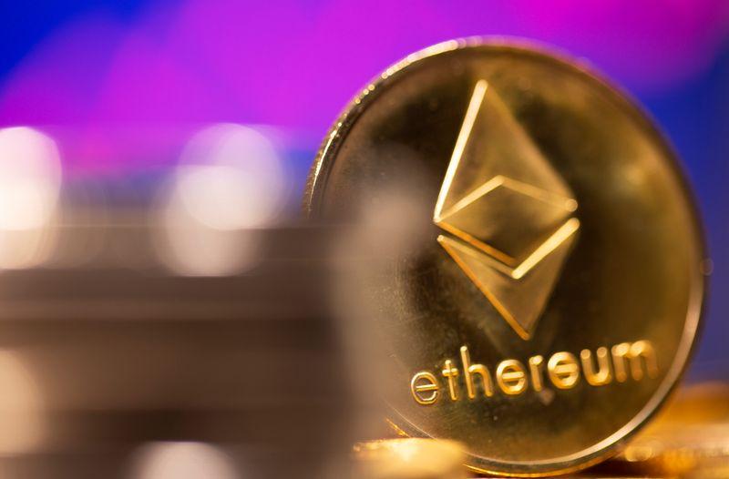L'éther chute de 1 % avant une mise à niveau majeure du réseau ethereum.